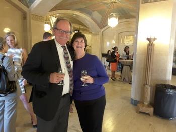 Harry Reinhart and Judge Liston